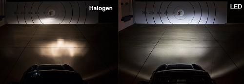 تکنولوژی لیزر، LED، زنون و هالوژن در چراغهای جلو خودرو