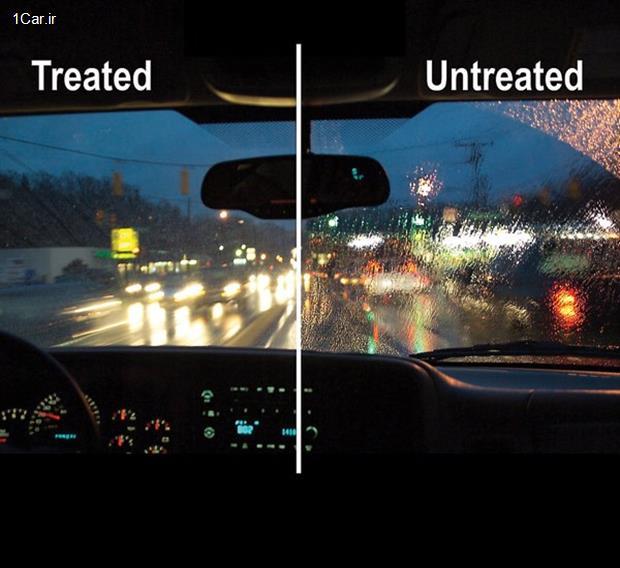 مواد ضدآب و نقش آنها در بهبود دید راننده