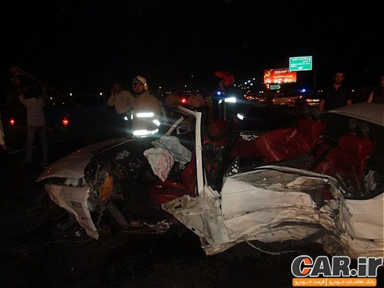 جزئیات تصادفات مرگبار دیروز تهران