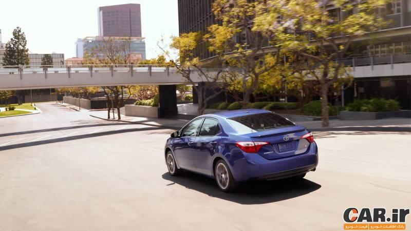 بررسی تویوتا کرولا S مدل 2015