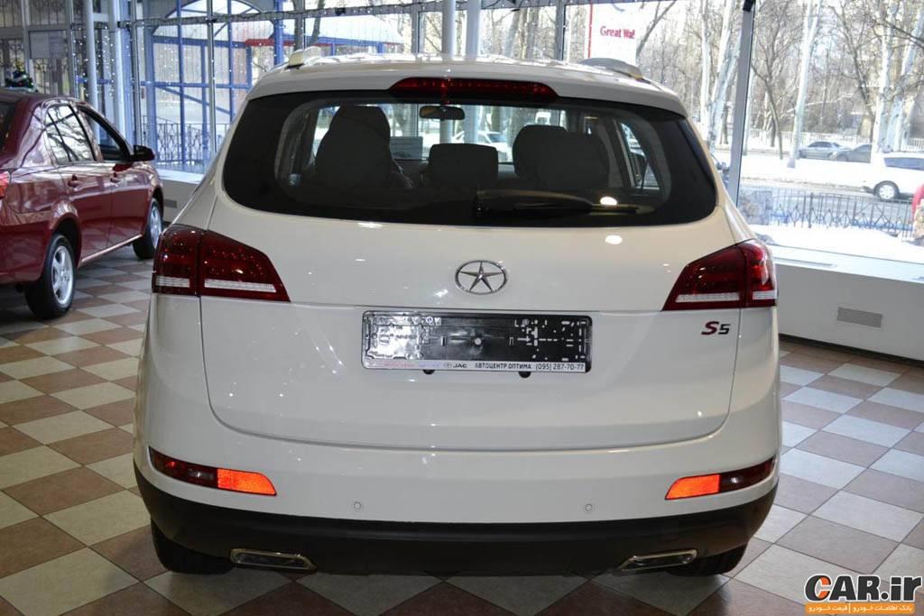 قیمت خودرو جک اس5