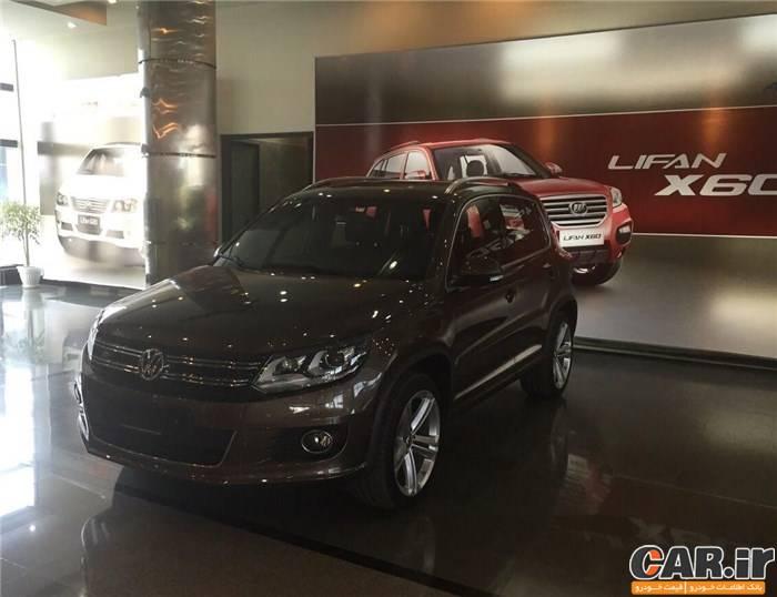 تولید فولکس واگن تیگوان در ایران توسط خودروسازان بم