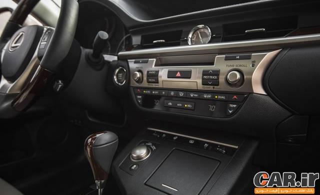 تست و بررسی لکسس ES350 مدل 2015