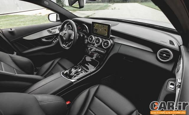 تست و بررسی مرسدس C300 4Matic مدل 2015