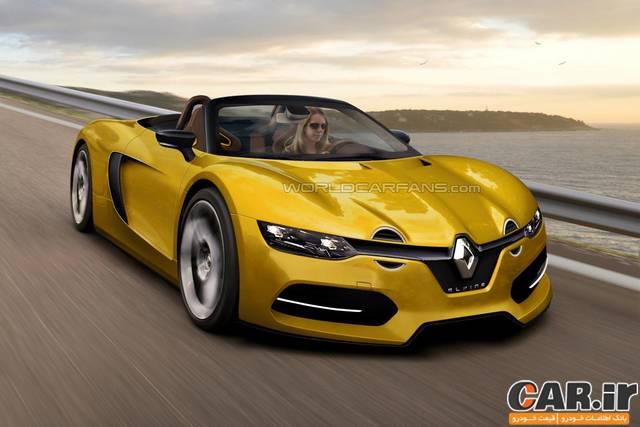 خودروی اسپرت رنو آلپاین به زودی معرفی میشود