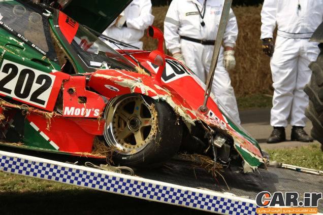 تصادف مزدا 767B در جشنواره گودوود