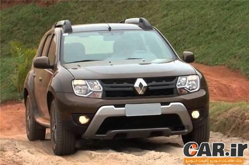 رنو داستر 4WD اتوماتیک در راه ایران