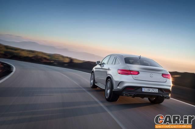 مرسدس GLE63 S Coupe رقیبی برای X6 M