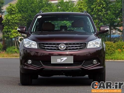 خط تولید شاسی بلند جدید ایران خودرو هایما S7 راه اندازی شد