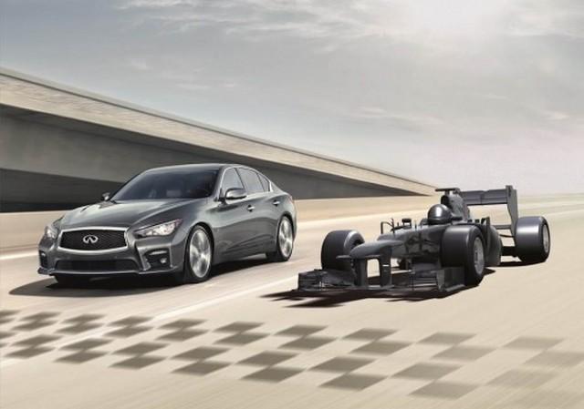 کمپین تبلیغاتی اینفینیتی با شانس راندن یک خودروی فرمول 1