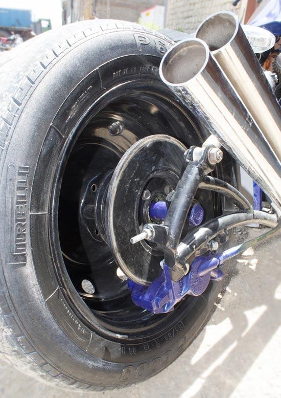 موتورسیکلت دست ساز ایرانی