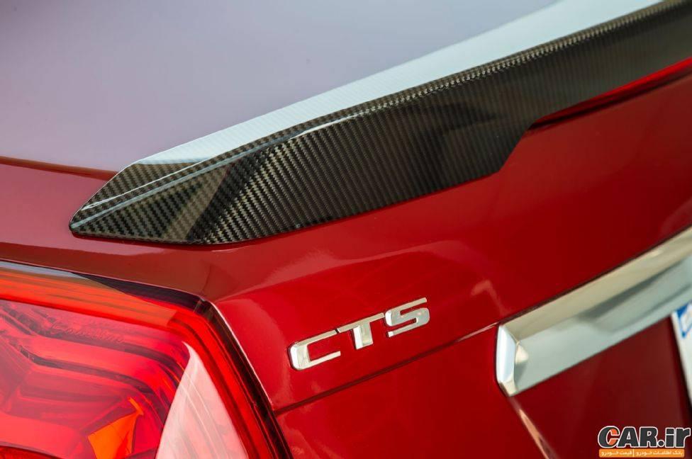 بررسی کادیلاک CTS-V مدل 2016