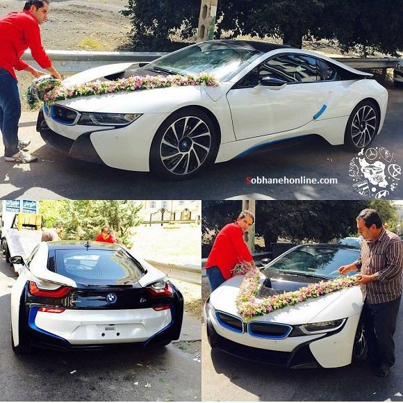 گرانترین ماشین عروس ایران