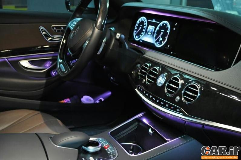 مروری بر مرسدسS500  مدل 2014