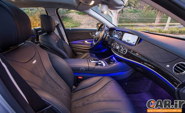 اولین رانندگی با مایباخ S600 جدید