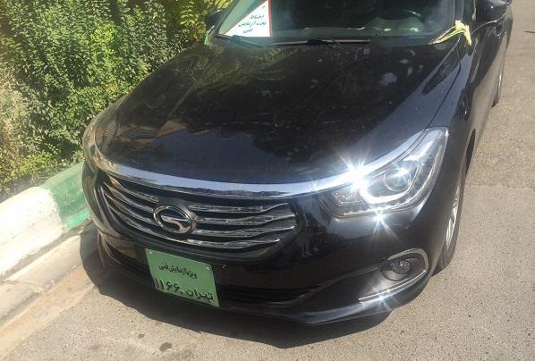3 خودروی چینی وارداتی در حال آزمایش فنی