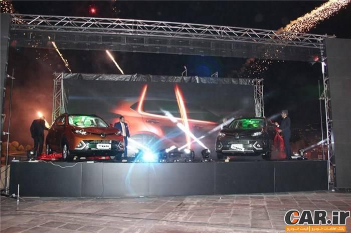 مراسم رونمایی MG GS در تهران