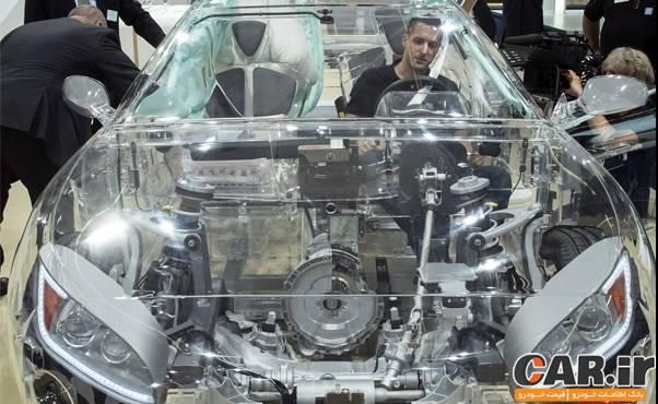 خودروی جالب شیشه ای ZF + عکس - خودرو