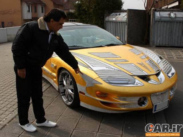 ماشین 4 میلیاردی یک ایرانی در آلمان
