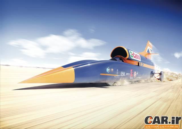 خودرویی با سرعت 1600 کیلومتر در ساعت