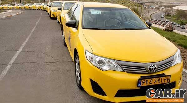 تجربه رانندگی با تویوتا کمری هیبریدی تاکسی