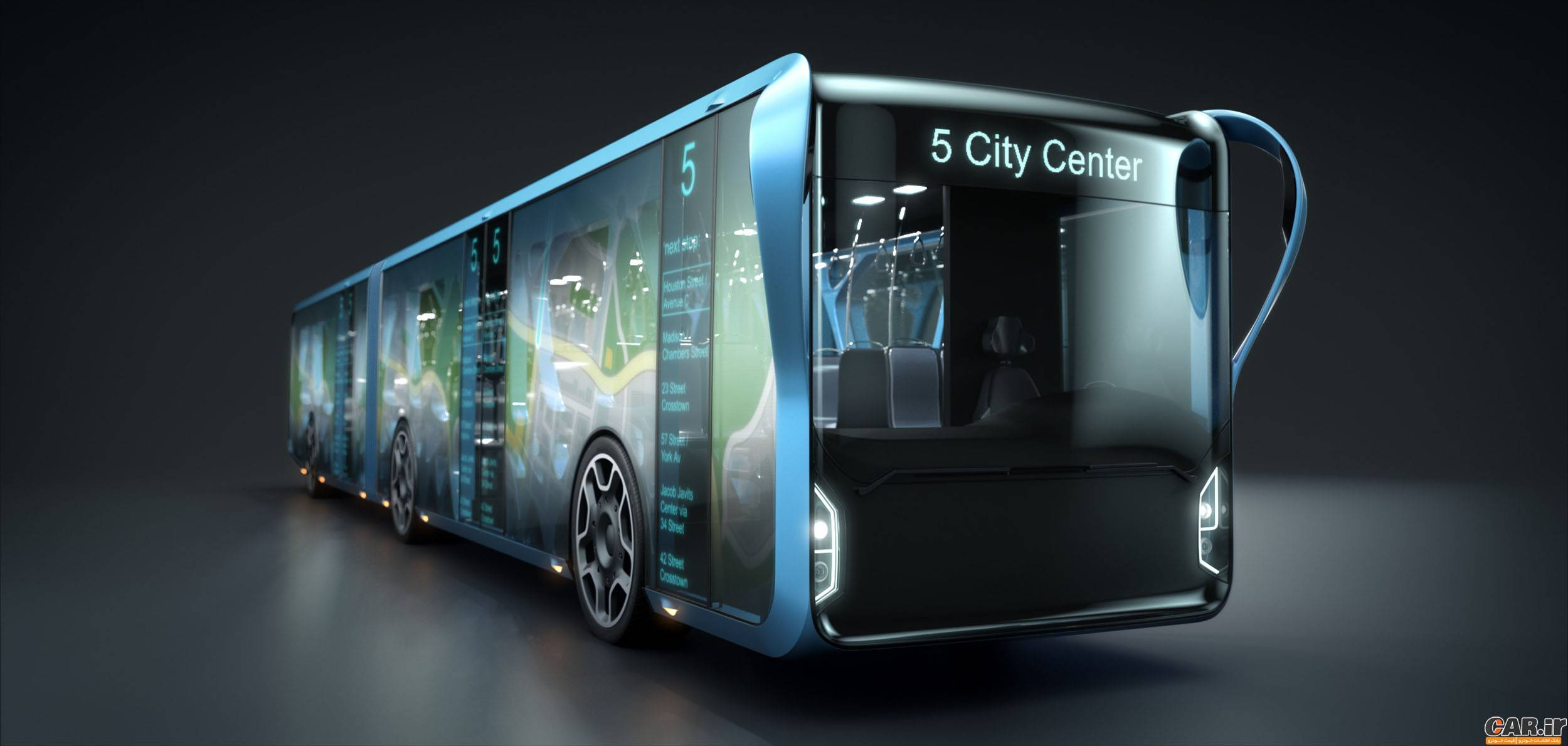 قیمت روز اتوبوس اسکانیا اتوبوسی از جنس LCD | اخبار خودرو