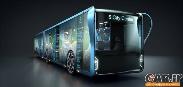 اتوبوسی از جنس LCD