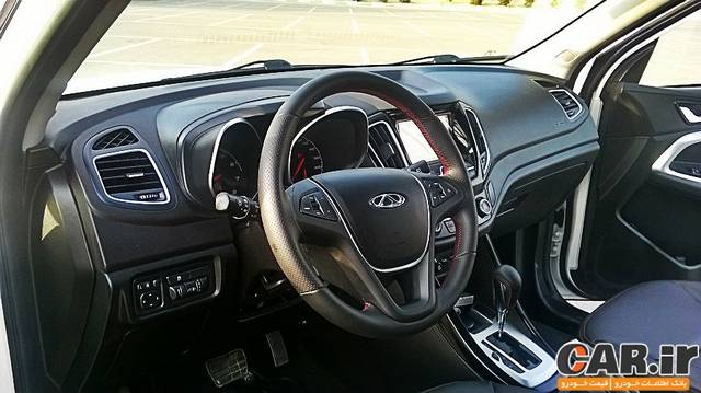 اولین تجربه رانندگی با چری تیگو 5