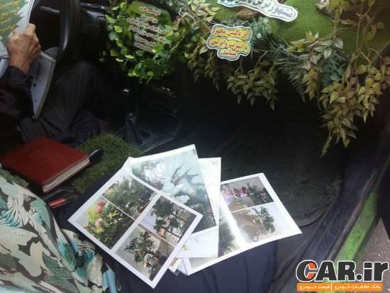 سبزترین تاکسی در ایران