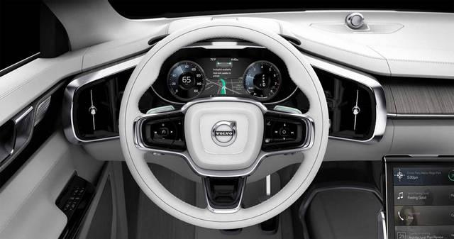 کانسپت بدون راننده ولوو با حالت های مختلف رانندگی