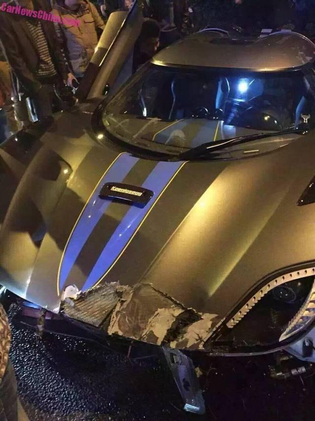 تصادف کونیگ زگ آگرا R در چین