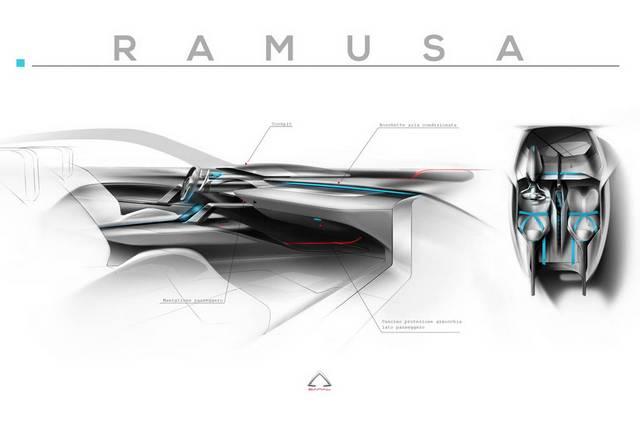 راموزا، یک سوپر آفرودر با موتور بوگاتی