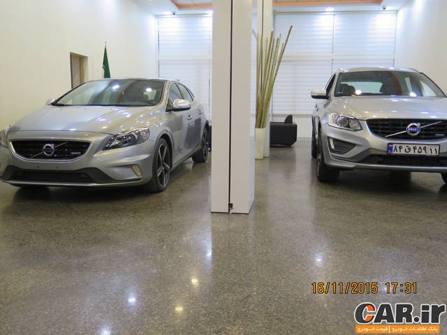 شرایط فروش ولوو XC60 و V40 توسط افرا موتور