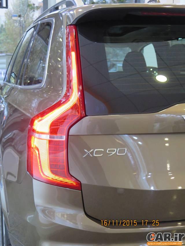 ولوو XC90 جدید در ایران