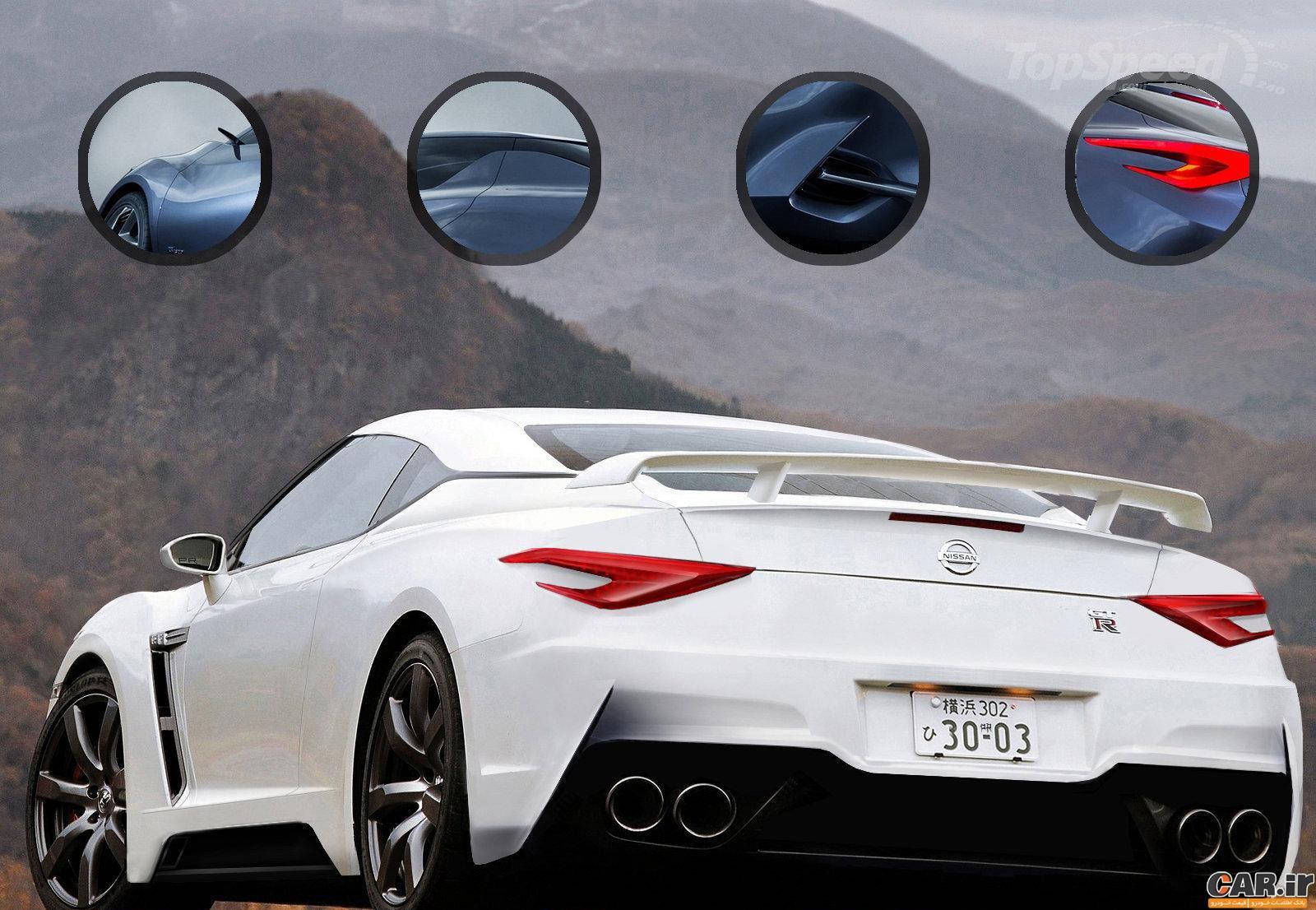 نیسان جی تی آر جدید برای سال 2018   اخبار خودرو