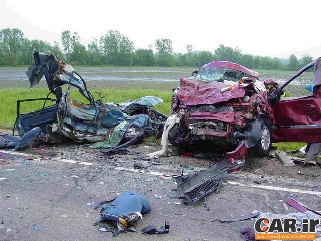 خودروهایی که بیشترین و کمترین آمار کشته در تصادفات را داشتند