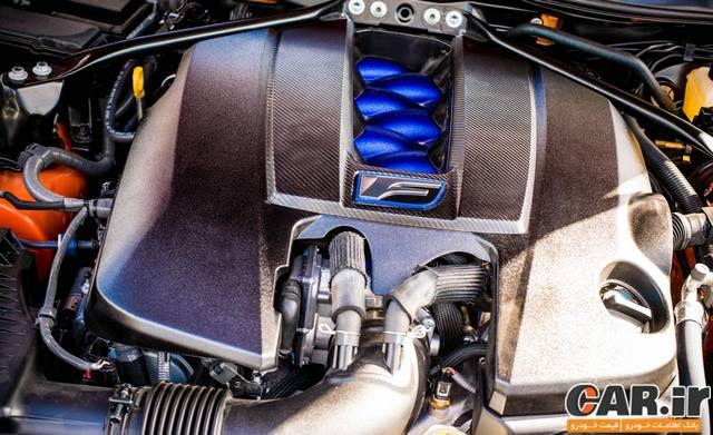 تست و بررسی Lexus RC-F