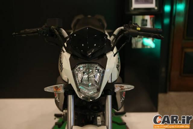 رونمایی شرکت نیکران موتور پاسارگاد از موتورسیکلت های بنللی