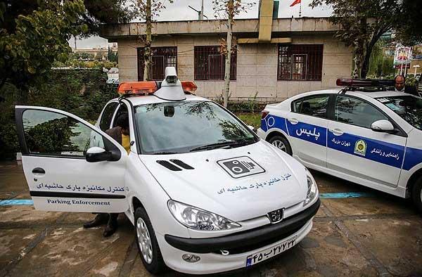 آغاز رسمی فعالیت خودروهای دوربیندار پلیس