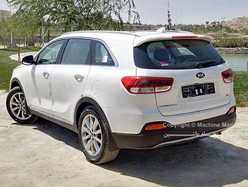 نخستین تجربه رانندگی با کیا سورنتو 2016 در ایران