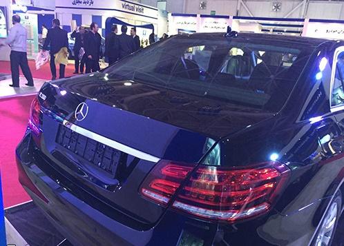 سواری مشترک بنز و ایران خودرو رونمایی شد