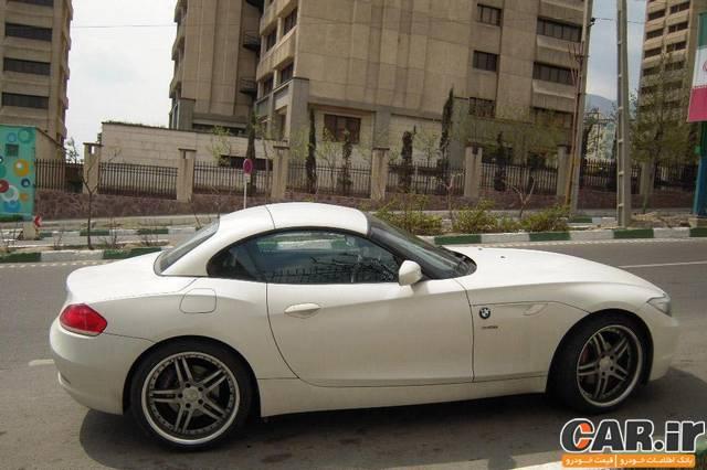 بررسی BMW Z4 در ایران
