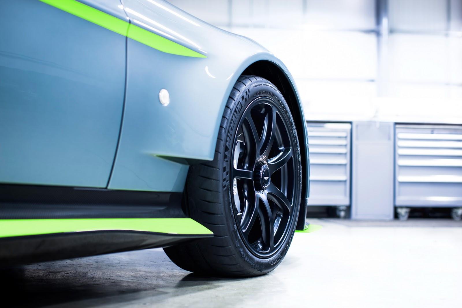 رونمایی آستون مارتین ونتیج GT8