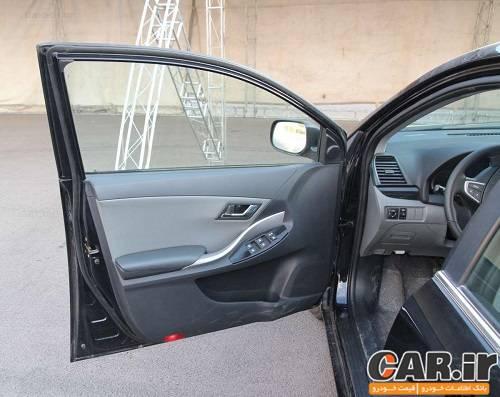 تجربه رانندگی با خودروی آریو محصول جدید شرکت سایپا
