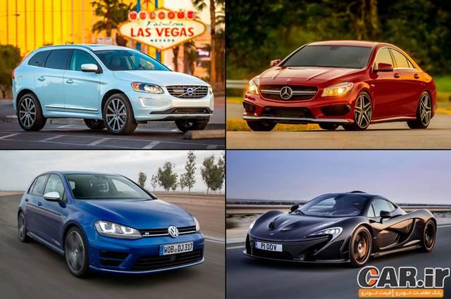 15 مدل خودرو مدل 2015 با قوی ترین پیشرانه های پر خوران