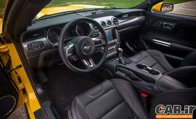 تست و بررسی فورد موستانگ 4 سیلندر توربو مدل 2015