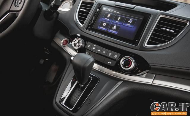 تست و بررسی هوندا CR-V مدل 2015