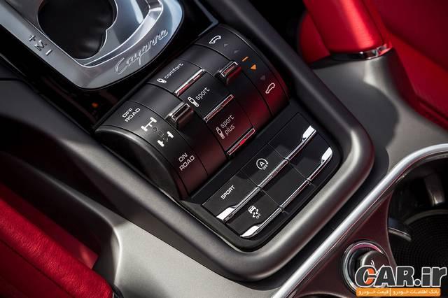 آزمایش رانندگی پورشه کاین 2015