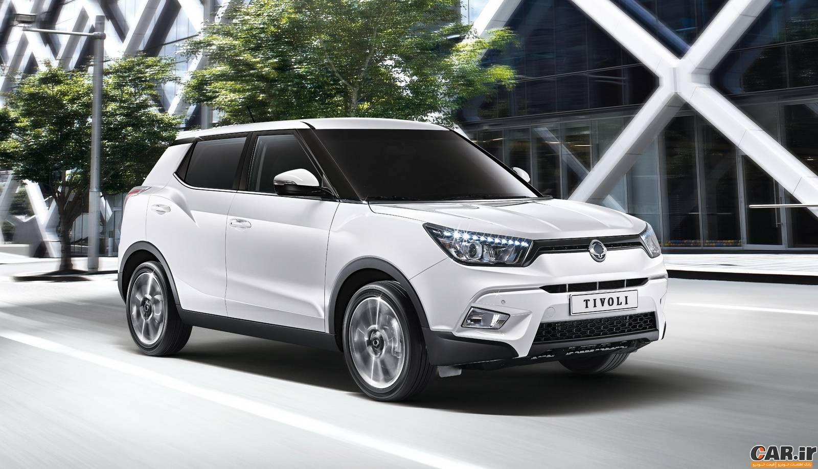 قیمت جدید خودرو سانگ یانگ